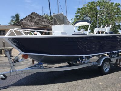 bateau alu 17 pieds neuf